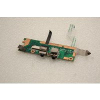 Gateway W350A Audio Board Ports 40GAB1702-D400