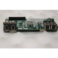 Dell Optiplex GX520 GX620 P8477 Power Button USB Audio Panel Board