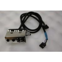 HP Compaq dx2300M USB Audio Ports Pane