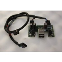 HP Compaq W4000 USB Audio Board Ports Cables 252610-001