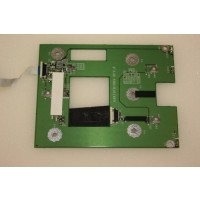 HP Compaq nx9010 Touchpad Mouse Buttons Board DAKT9TB16B9
