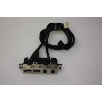 HP Compaq dc5150 USB Audio Ports Panel 4N638-004