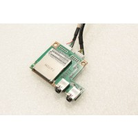 HP TouchSmart 300 All In One PC Audio Card Reader Board 537477-001