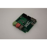 IBM Intellistation Z Pro Audio Firewire Ports Panel Board 49P1752 at MicroDream.co.uk