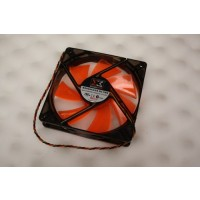 XigmaTek PLA12025S12L-4 DF1202512SEMN White LED Case Cooling Fan 120mm x 25mm