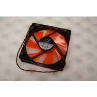 XigmaTek PLA12025S12L-4 DF1202512SEMN White LED Case Cooling Fan 120mm x 25mm