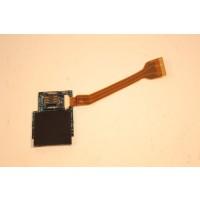 Dell Latitude D420 SIM Smart SD Card Reader Board Cable LS-3075P