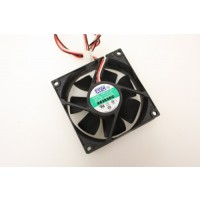AVC C8025S12M 3Pin Case Fan 80mm x 25mm