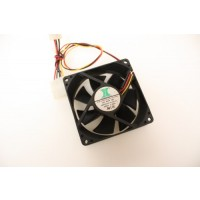 Inter-Tech SDF-8025ME12S 3Pin Case Fan 80mm x 25mm