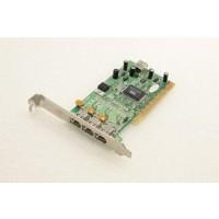 KEC L1582V 4 FireWire Ports PCI Adapter Card