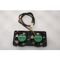 Sunon KD1204PFV2 Case Cooling Twin Fan 3Pin