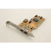 VIA F008-62 3 Firewire Ports PCI Adapter Card