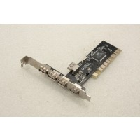 VIA V6212-J1 5 USB 2.0 Ports PCI Adapter Card