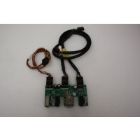 HP Compaq Presario 6000 USB Audio Firewire Board Panel Ports