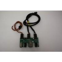 HP Compaq Presario 6000 USB Audio Firewire Board Panel Ports
