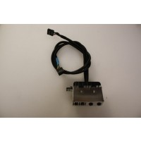 HP Compaq DX2250 Microtower USB Audio Ports Panel