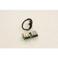 Medion WAM2070 USB Ports Board 48.4Q102.011