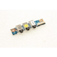 Clevo Notebook M3SW Audio Ports Board 71-M36H8-D01