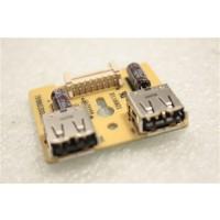 Dell P190SF USB Port Board 791860300000R 491660300100H ILC-015 Rev B