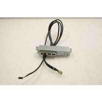 HP Compaq D330 I/O USB Audio Panel 316133-001 NO LED POWER BUTTON