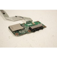 Advent 6441 Audio Ports Card Reader Board Cable 80G2F7100-10