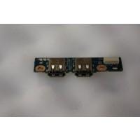 HP Pavilion DV7 USB Ports Board LS-4082P