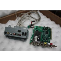 HP Grand Canyon 5070-2361 front I/O USB 2.0, IEEE 1394, mic, audio L+R, and headphone jack HP DOLPHIN TV CARD 5188-4199