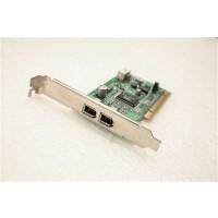 MicroStar 2 FireWire IEEE-1394 Ports PCI Adapter Card MS-6971 Ver:1.0