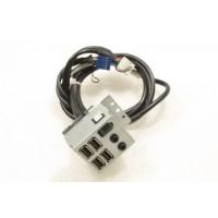 Dell Vostro 220 I/O USB Audio Ports Panel Board M190H 0M190H