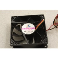 GlacialTech F128025BL 80mm x 25mm 3Pin Case Fan