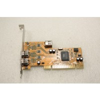 VIA VT6306 Full Size PCI 3 IEEE 1394 Firewire Ports Adapter Card