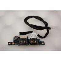 HP Presario C700 USB Ports Board DC02000FR00