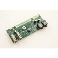 Dell Precision 390 I/O USB Audio Power Button Board FK463 FJ470
