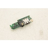 HP Mini 110-1110SA Audio USB Ports Board 581325-001
