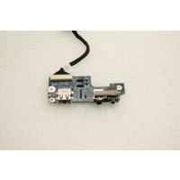 HP Compaq Presario C500 Audio Ports USB Board 441727-001