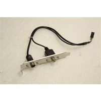 Video And Svideo Ports Blanking Plate MSI P/N/K10-1002002-V03 P/N:6768260100