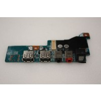 Sony Vaio VGX-TP Series Back USB Audio Ports Board M771 1P-1083102-4011
