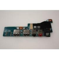 Sony Vaio VGX-TP Series Back USB Audio Ports Board M771 1P-1083102-4011