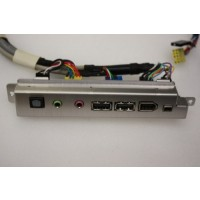 AOpen XC Cube AV EA65 USB Audio Firewire Ports Panel Cables