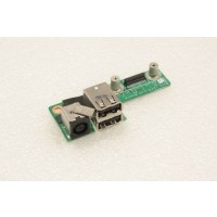 Dell XPS M1530 DC Socket USB Board 48.4W104.011