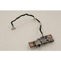 Packard Bell EasyNote TJ64 Ethernet USB Ports Board 48.4BU02.01M