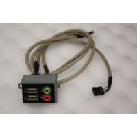 E-System E101 USB Audio Ports Board Panel Cable