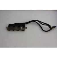 HP Compaq dc5100 dc7100 SFF USB Audio Ports Panel 358801-001