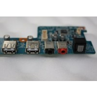 Sony Vaio VGX-TP Series Back USB Audio Ports Panel Board 1P-1076102-4010