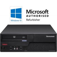 Lenovo ThinkCentre M58p Core 2 Duo E8400 3.0GHz 4GB 160GB DVD Windows 10 Refurbished Computer
