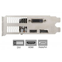 GTX 1050 Full Height Bracket for Video Graphics Card DVI HDMI DisplayPort
