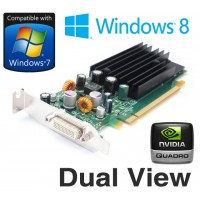nVidia Quadro NVS 285 128MB PCI-E Dual Display Low profile Graphics Card