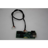 Dell OptiPlex GX260 GX270 SFF USB Audio Board & Cable 9K939