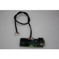 Dell OptiPlex GX260 GX270 SFF USB Audio Board & Cable 9K939