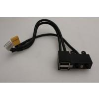 HP IQ500 TouchSmart PC Front USB Audio Port Panel